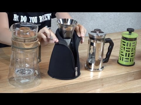 Alat Kopi Paling Gampang Digunakan – French Press / Plunger Coffee / Immersion
