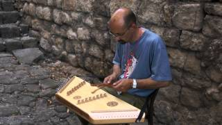 Hammered dulcimer ! Beautiful instrument made and music performed by Claude Bertrand