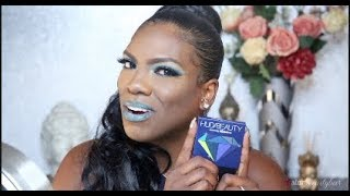 BOLD & BLUE: Makeup Tutorial w/ HUDA BEAUTY SAPPHIRE Obsessions    FULL FACE   5StarBeautyBar