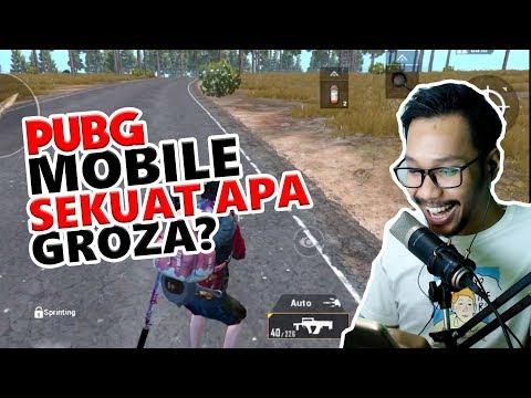 DAMAGE GROZA GA MASUK AKAL - PUBG MOBILE INDONESIA