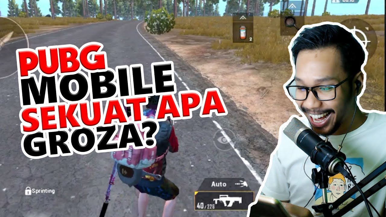 DAMAGE GROZA GA MASUK AKAL - PUBG MOBILE INDONESIA