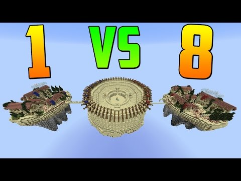 DANIREP vs 8 Y GANO!!! TOTALMENTE INCREIBLE!! - Egg Wars Minecraft