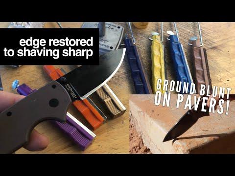 Dull Knife to Sharp Knife Full Tutorial (Lansky System)