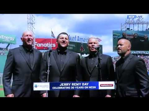 Exchange Street Quartet at the Red Sox Game 20170820