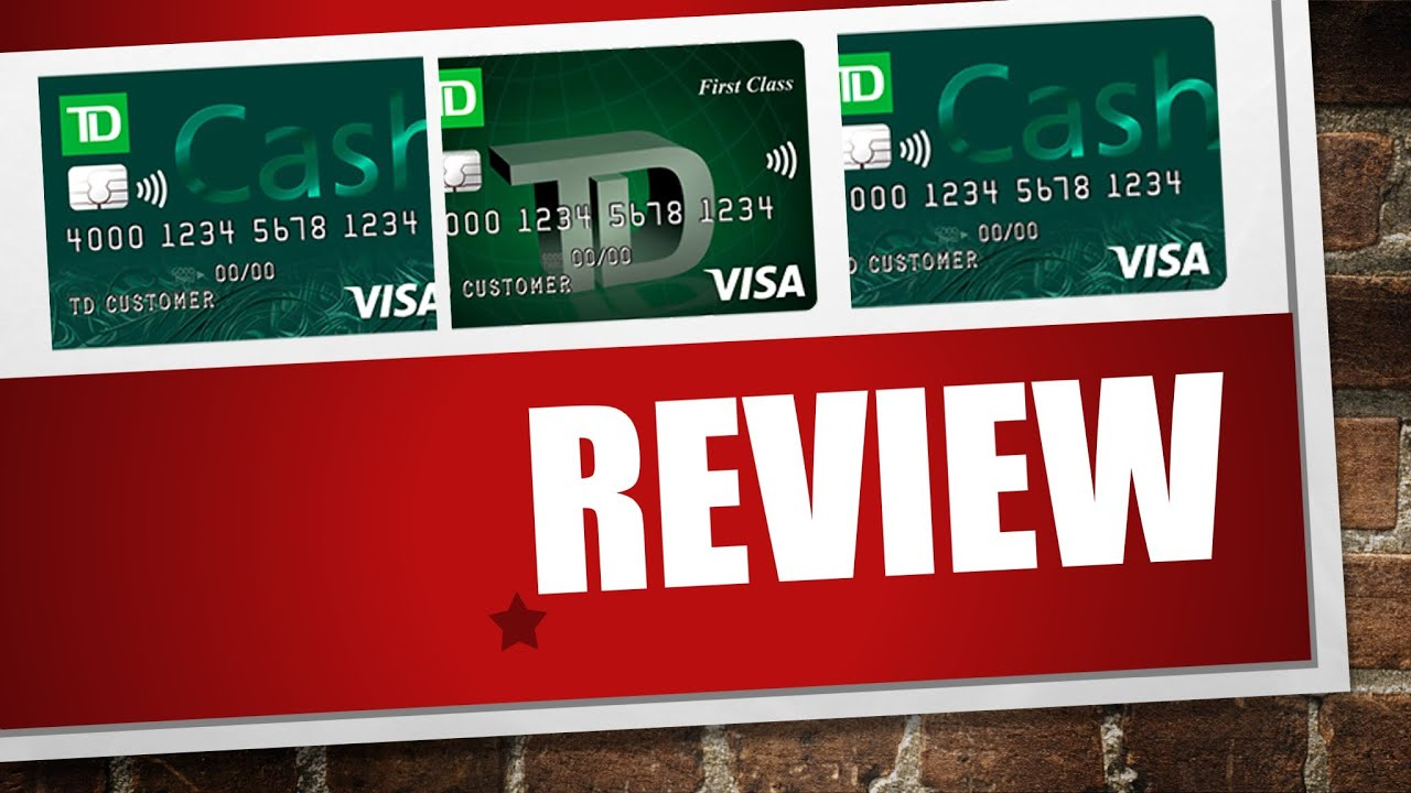 td bank credit card for newcomers