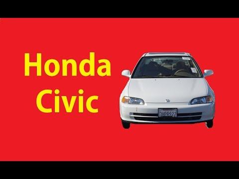 Classic 1994 Honda Civic EX Video Original 1 Owner Review 37k Miles