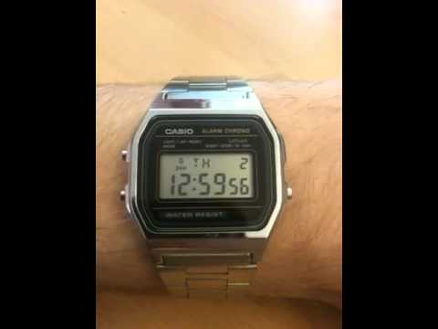 Casio 593 time signal