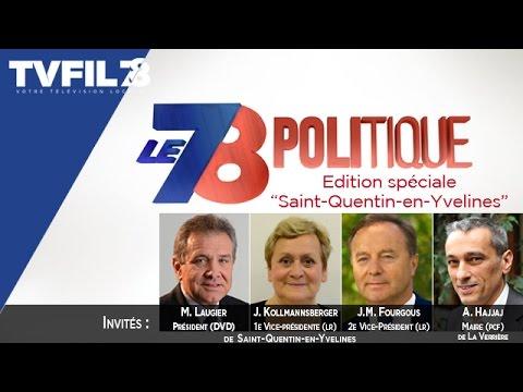 """Le 7/8 Politique – Edition spéciale """"SQY"""""""