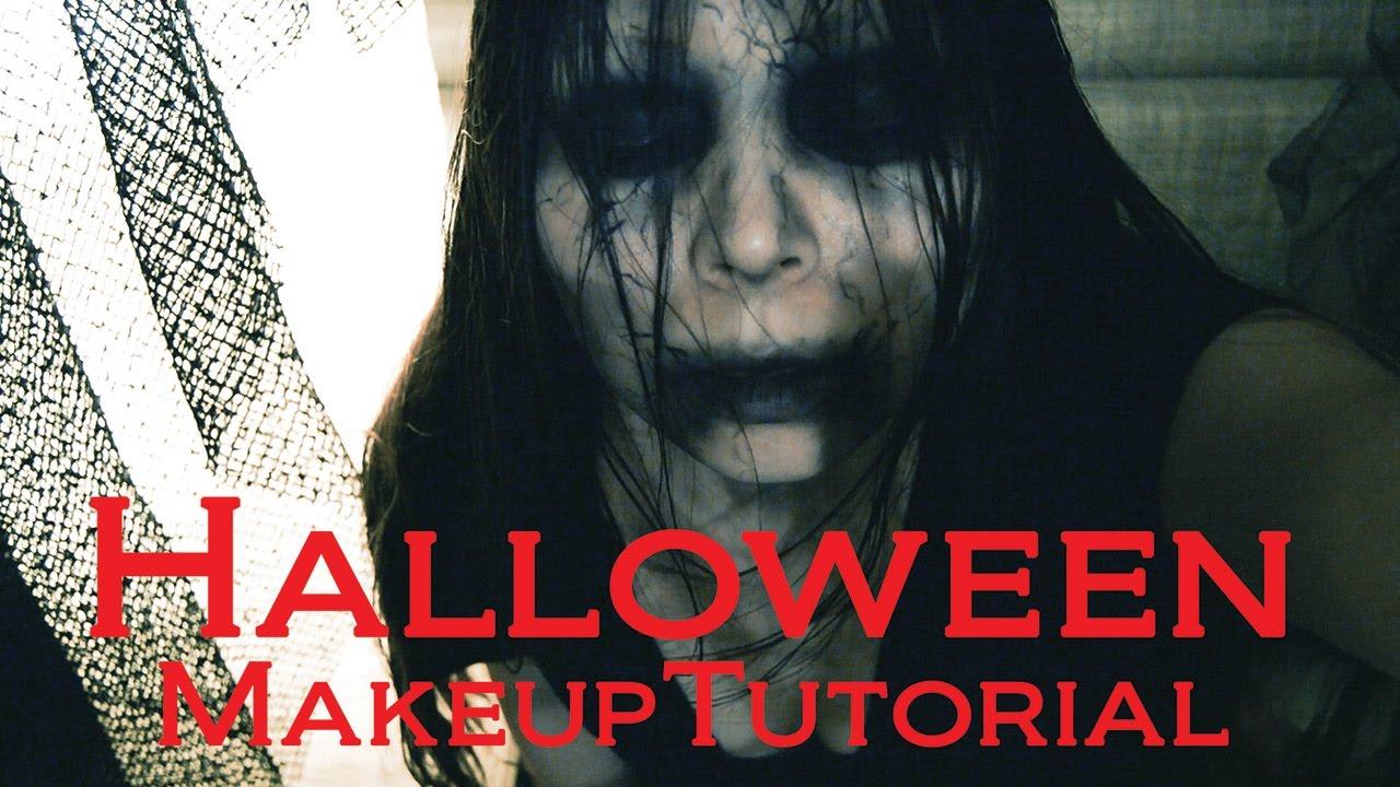 Quick easy scary halloween makeup tutorial youtube baditri Gallery