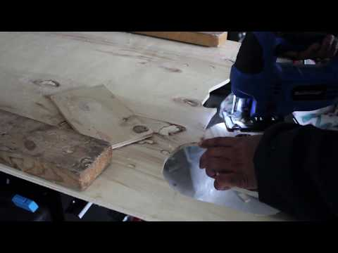 Cutting Letters out of Wood