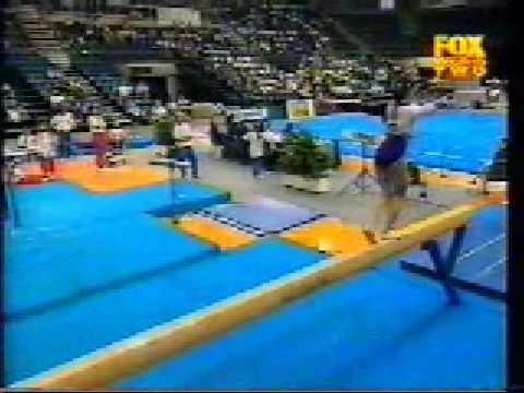 Sun Xiaojiao 1999 Canberra Cup All-Around Balance Beam