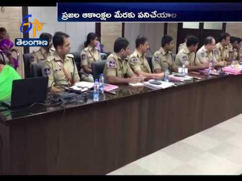 DGP Anurag Sharma Review Meet With Districts SPs And Commissioners