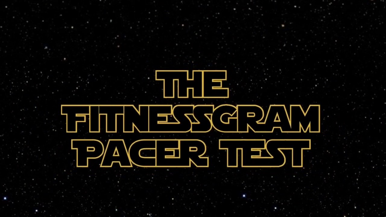 The FitnessGram Pacer Test (Star Wars Themed) - YouTube