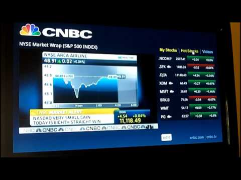 Google TV Apps - CNBC Real Time - YouTube