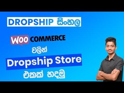 Dropshipping Sinhala : Create Dropshipping Store Using Woocommerce 2019 thumbnail