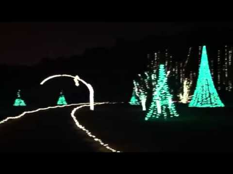 Million Bulb Walk At Norfolk Botanical Gardens 2012 Youtube