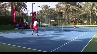 Roger Federer Practice in Dubai - 22nd of December 2016