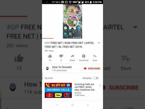 Free Airtel Voda net pack unlimited grab it now...limited time