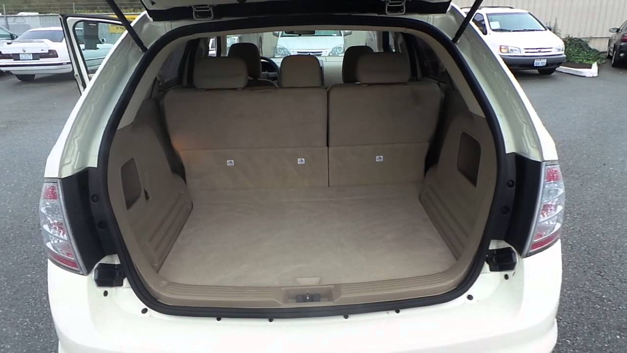 Ford Edge Creme Brulee Clearcoat Stock A Trunk