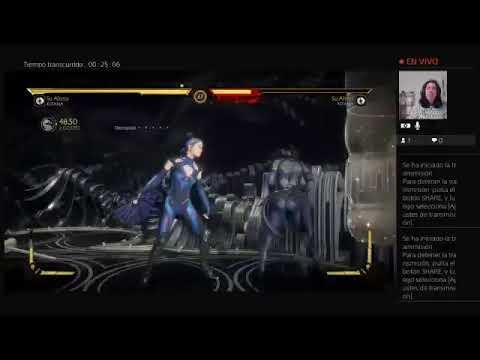 Transmisión de PS4 en directo fandub mk11   de herabarreto034