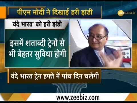 PM Modi flags off India's fastest train 'Vande Bharat Express' Mp3
