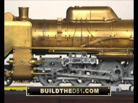 Build the D51 Steam Locomotive – ModelSpace UK