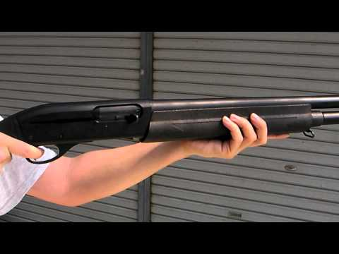 Maruzen Remington M1100 Shell Ejecting GBB airsoft shotgun マルゼン M1100