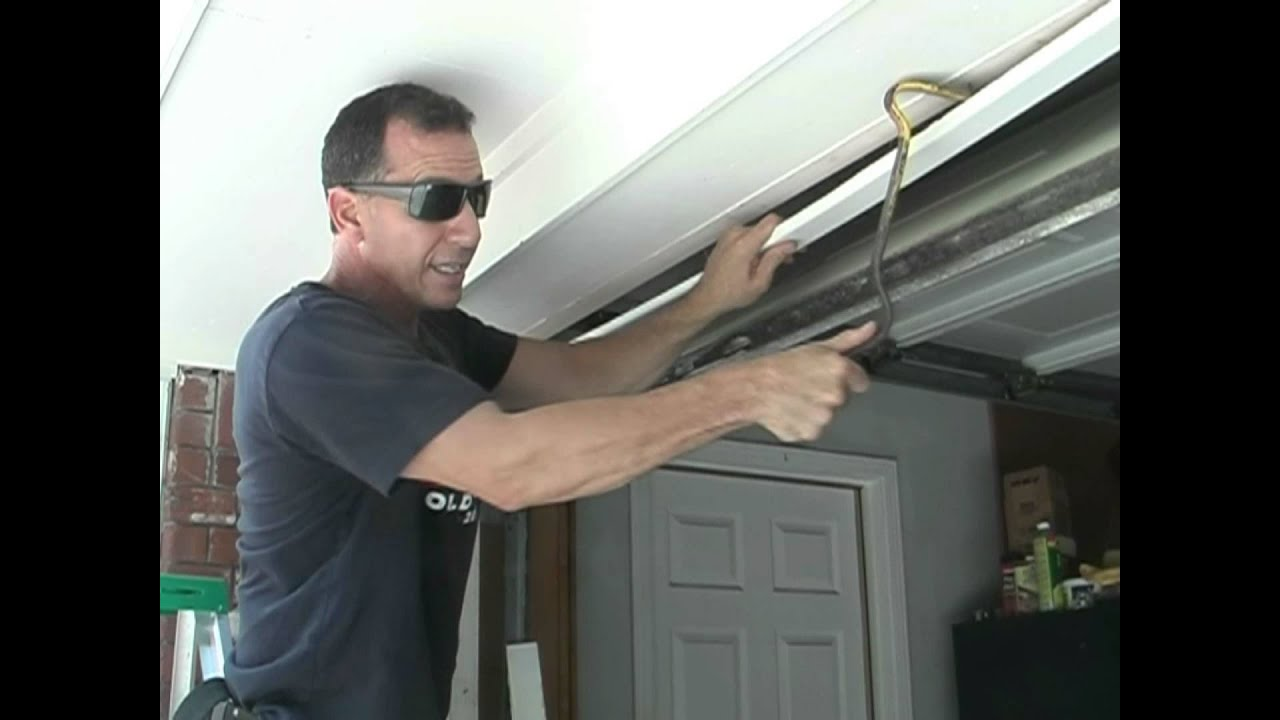 Repair rotted garage door jamb youtube for Garage side door and frame
