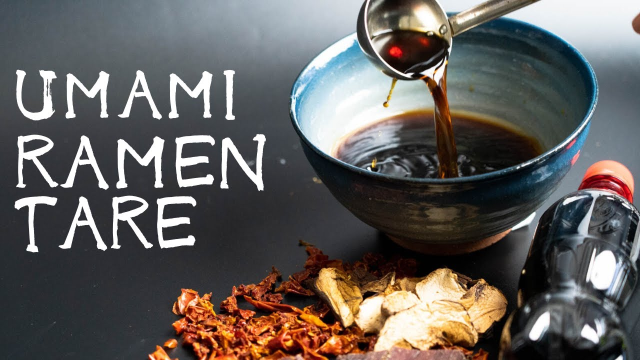 Download How to make Ramen TARE with common ingredients.(Shoyu Tare recipe)