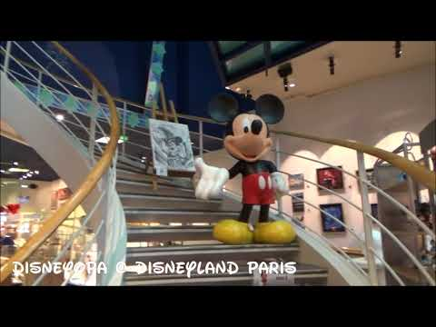Disneyland Paris The Disney Gallery Shop walkthrough 2017 DisneyOpa