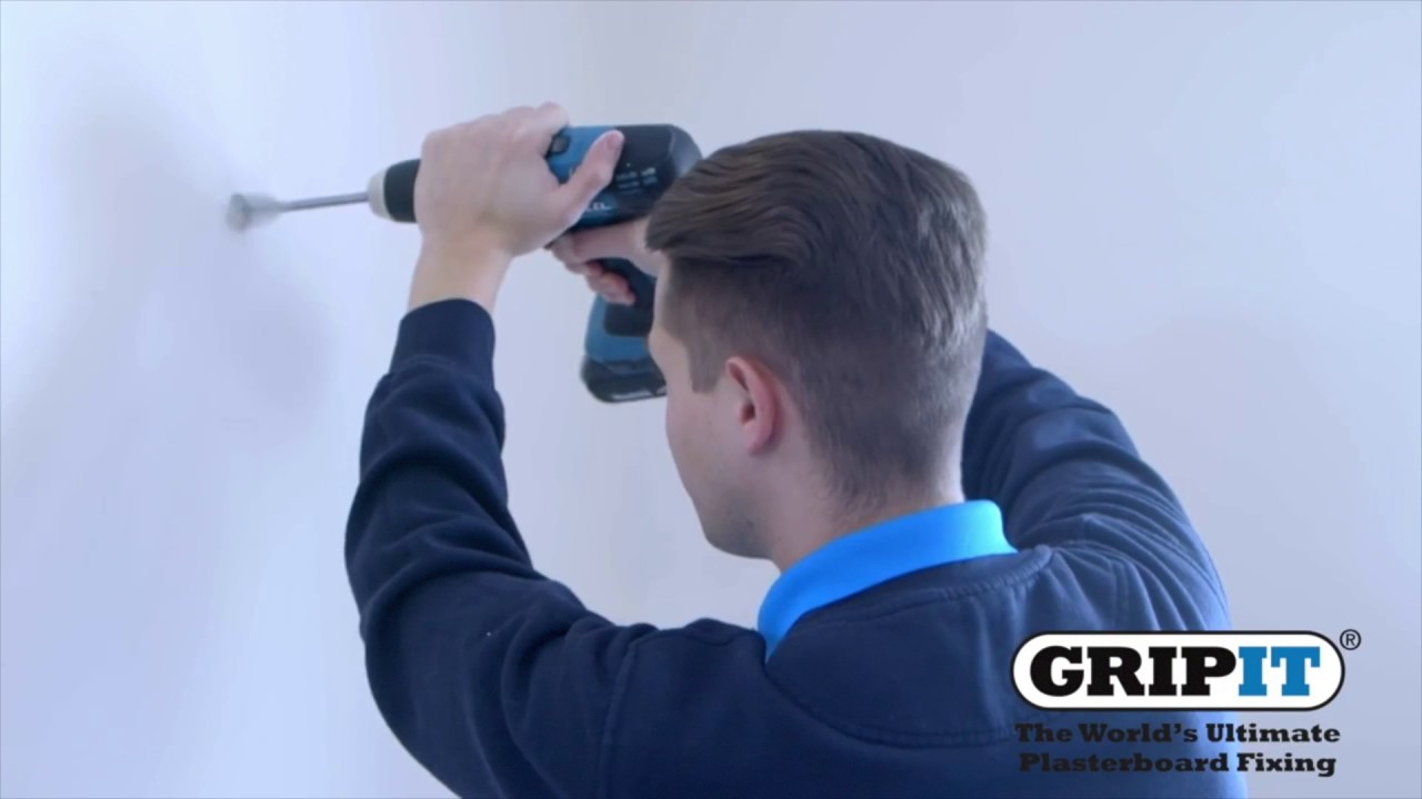 Gripit How To Hang A Mirror Onto Plasterboard Wall
