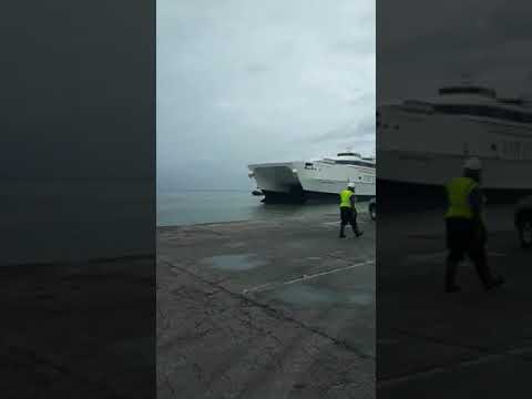NEWEST INTER ISLAND FERRY HAS ARRIVED