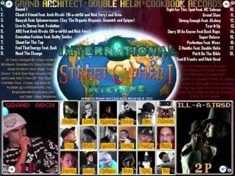 """International Mix Tape """"Street Cypher"""" Series Debut ENTIRE LP Included"""