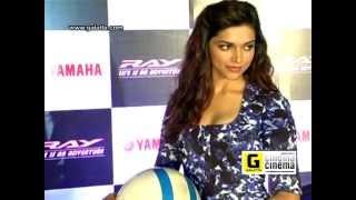 Deepika Padukone Launches New Yamaha Ray
