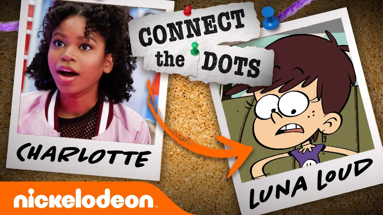 How to Get From Charlotte ➡️ to Luna Loud! 🧠 Connect the Dots | Nick