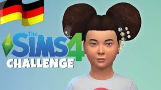 SIMS 4 Challenge 🤓  Zufallsfiguren: Random Genetics deutsch 🤓 Kinder Let's Play