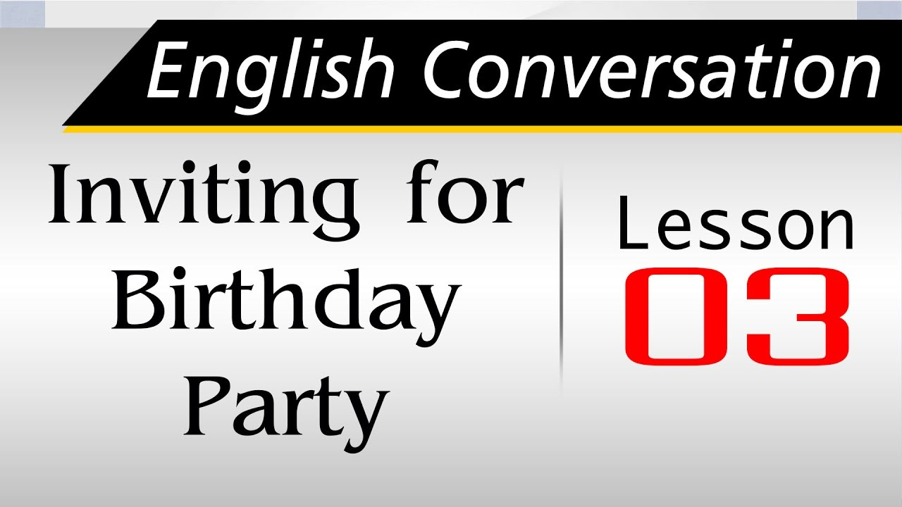 dialogue about birthday party Intermediate level dialogue about planning a party with a focus on future forms of going to and will with follow up multiple choice questions.