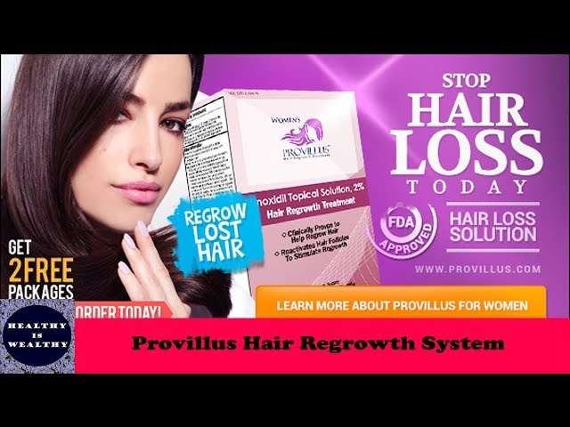 Provillus Hair Regrowth System Best Hair Regrowth Supplement For