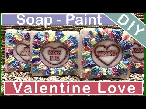 Cold Process Soap Designs ~ Hand Made Valentines