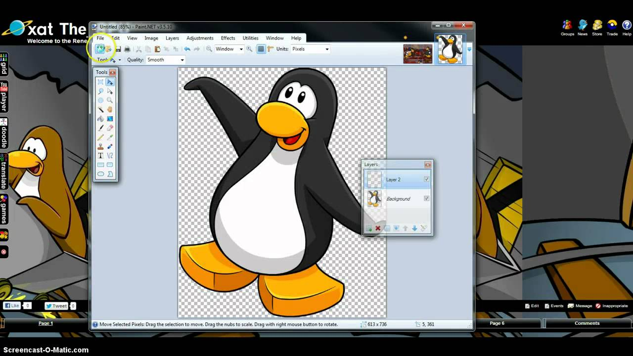 How To Use Xat Animation