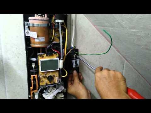 แนวทางการประกอบติดตั้งเครื่องทำน้ำอุ่น PANASONIC รุ่น DH-4KD1 ตอนที่6
