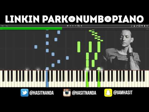 Linkin Park - Numb (Piano Tutorial + FREE MIDI FILE)