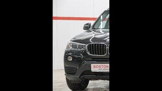 BMW X3 F25, 2014 мини обзор от Александра Грибка, Автосалон Boston