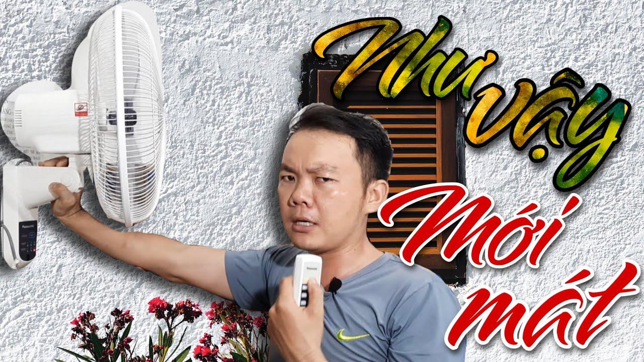 Quạt treo tường Panasonic F-409MG màu trắng tinh khôi | Điện Nguyên Hùng Phát.