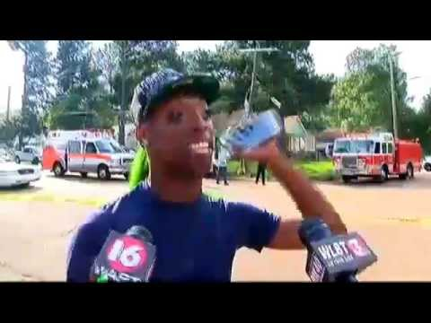 REAL VERSION Jackson Mississippi Police officer crash interview Ruby Evans Courtney Barnes