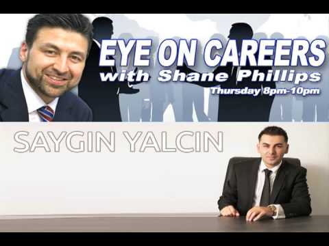 "Saygin Yalcin on ""Eye on Careers"" show - October 2013"