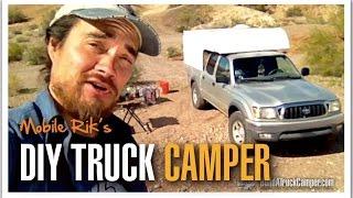 Mobile Rik's Diy Truck Camper