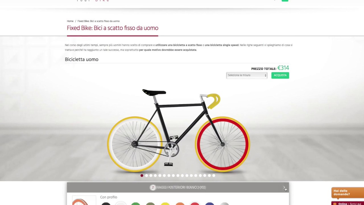 Crea la tua bici e ricevila direttamente a casa youtube for Crea la tua casa online