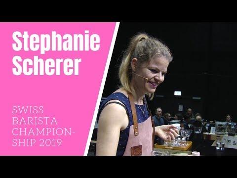Stephanie Scherer: Barista Finale Schweizermeisterschaft