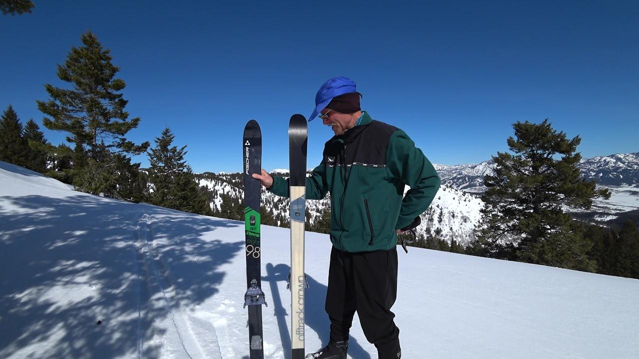 Fischer S-Bound 98 Crown//Skin Cross Country Ski